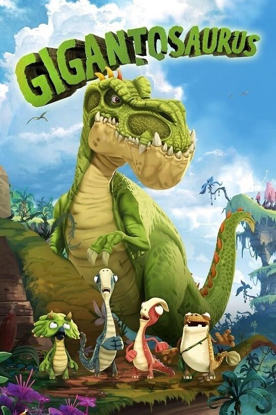 Gigantosaurus on Disney Plus poster
