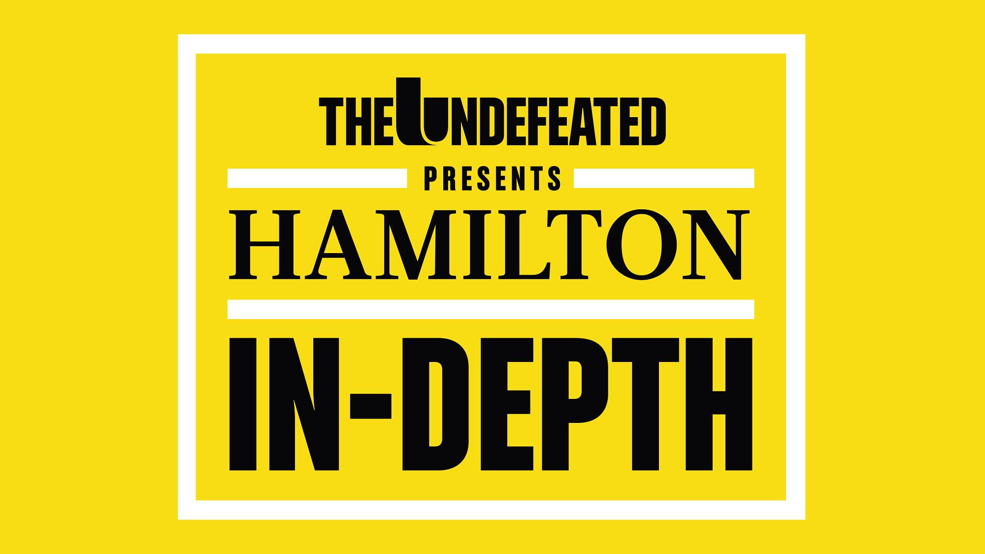 Hamilton In-Depth behind the scenes