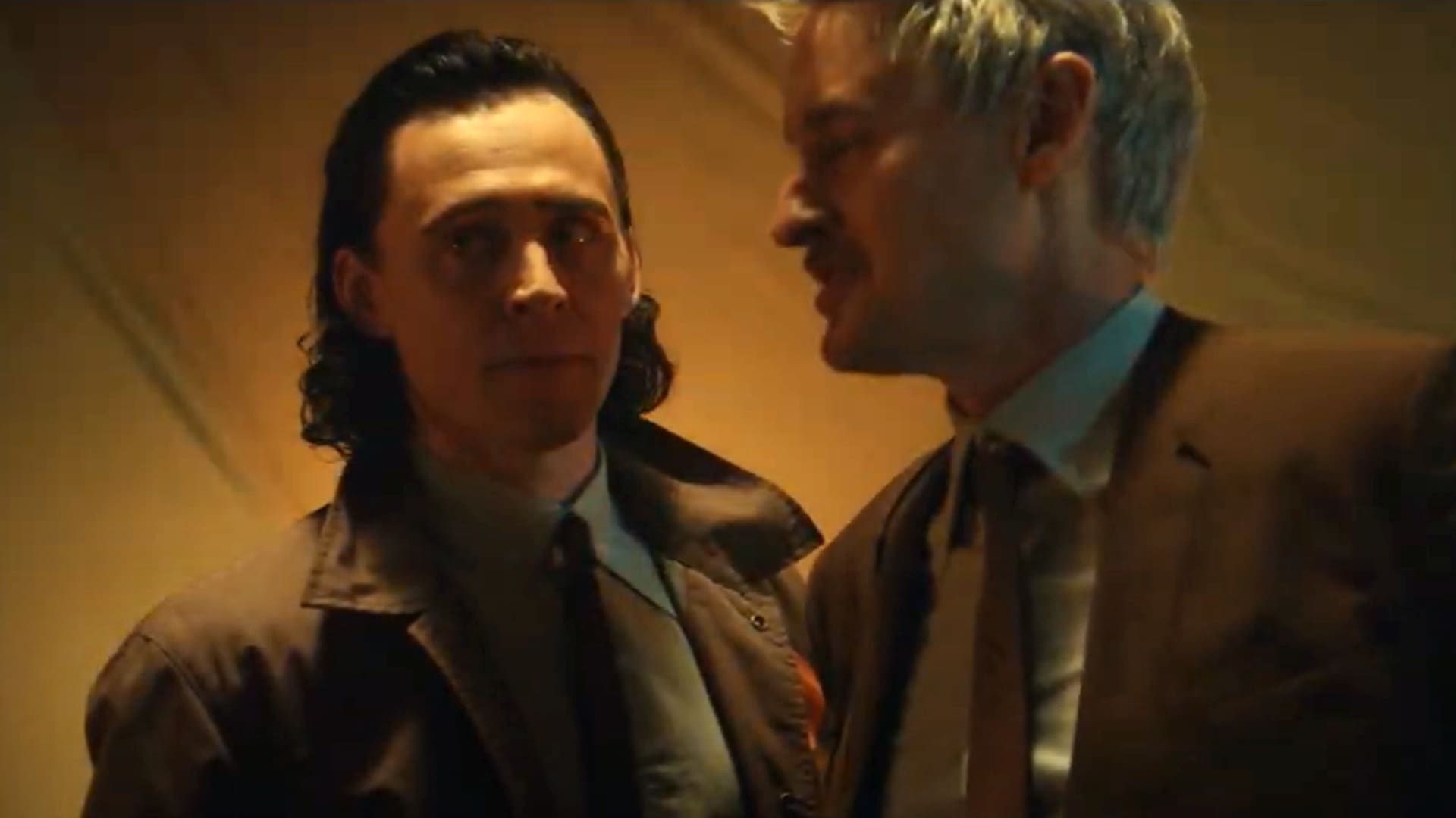 Tom Hiddleston and Owen Wilson star in Marvel Studios' Loki on Disney Plus