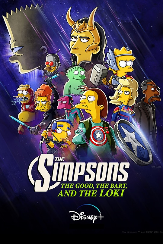 The Good, The Bart, and The Loki poster