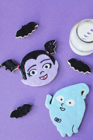 Vampirina Cookies Recipe