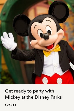 Party with Mickey at Disney Parks