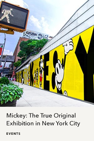 Mickey: The True Original Exhibition in NYC