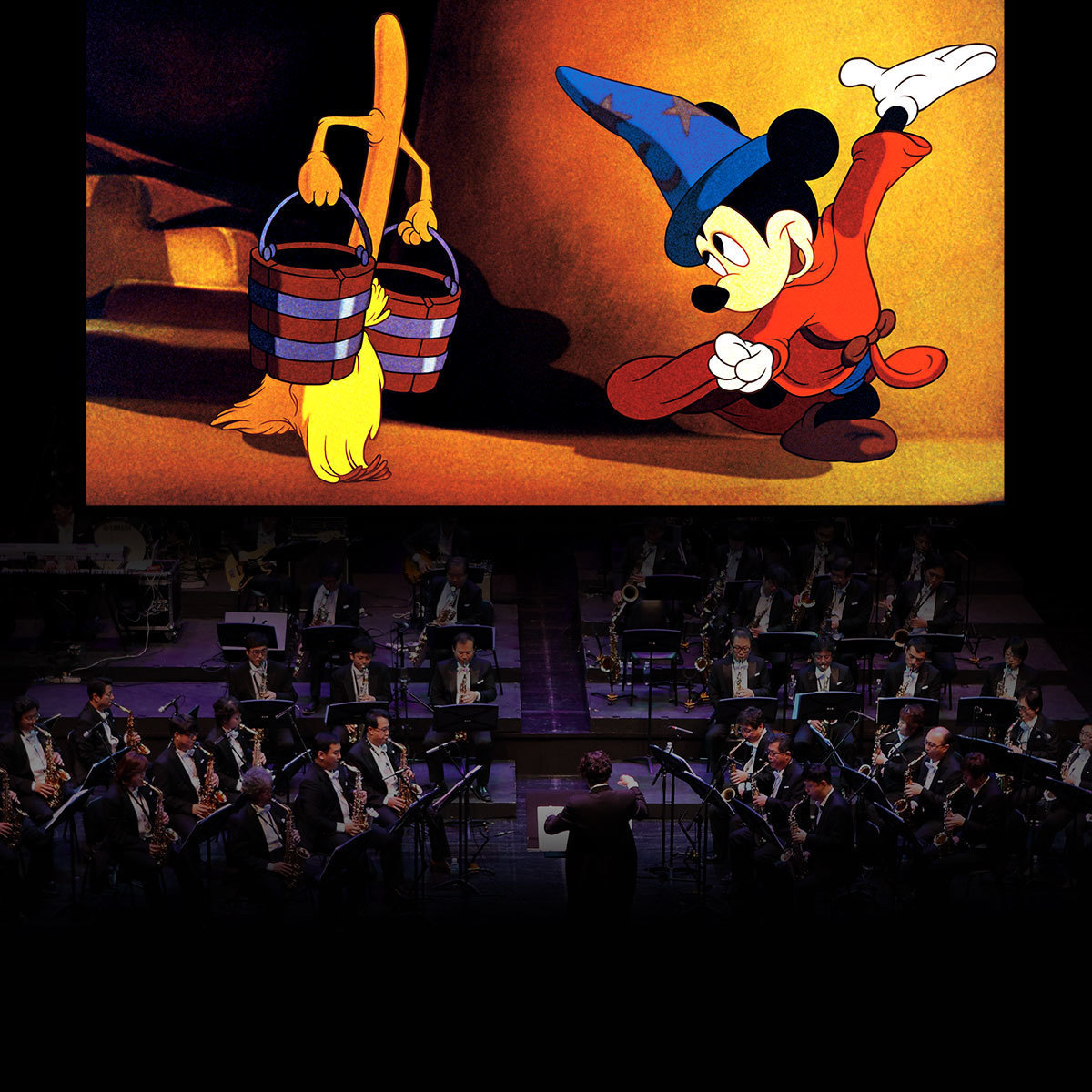 Disney's Fantasia in concert live to film with the Melbourne Symphony Orchestra | Book Tickets