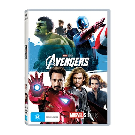 The Avengers DVD - Exclusive to Big W