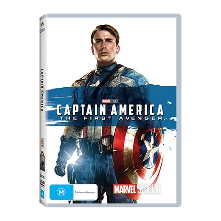 Captain America: The First Avenger DVD - Exclusive to Big W