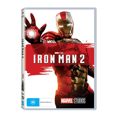 Iron Man 2 DVD - Exclusive to Big W