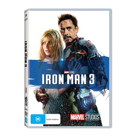 Iron Man 3 DVD - Exclusive to Big W