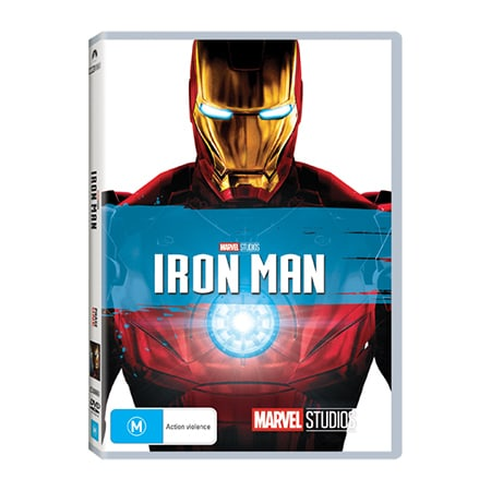 Iron Man DVD - Exclusive to Big W