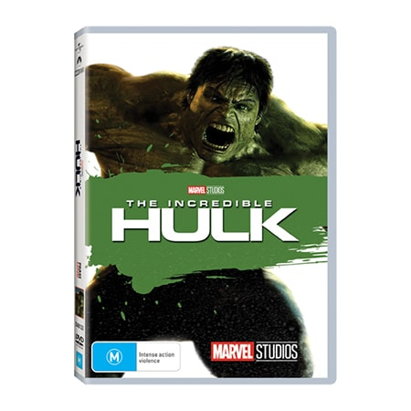 The Incredible Hulk DVD - Exclusive to Big W