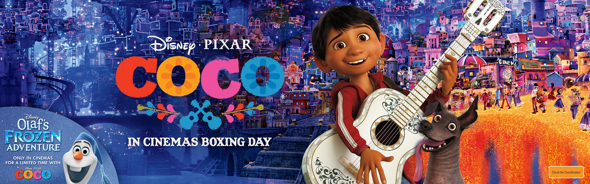 AU Movies Coco Universal Hero with Takeover