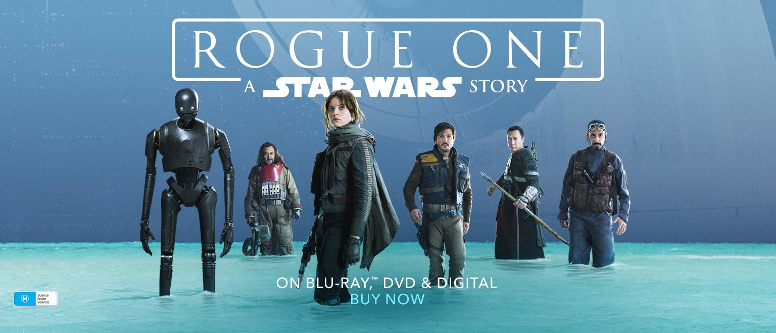 Rogue One - Home Entertainment - Buy Now - Homepage - Rich Image Flex AU