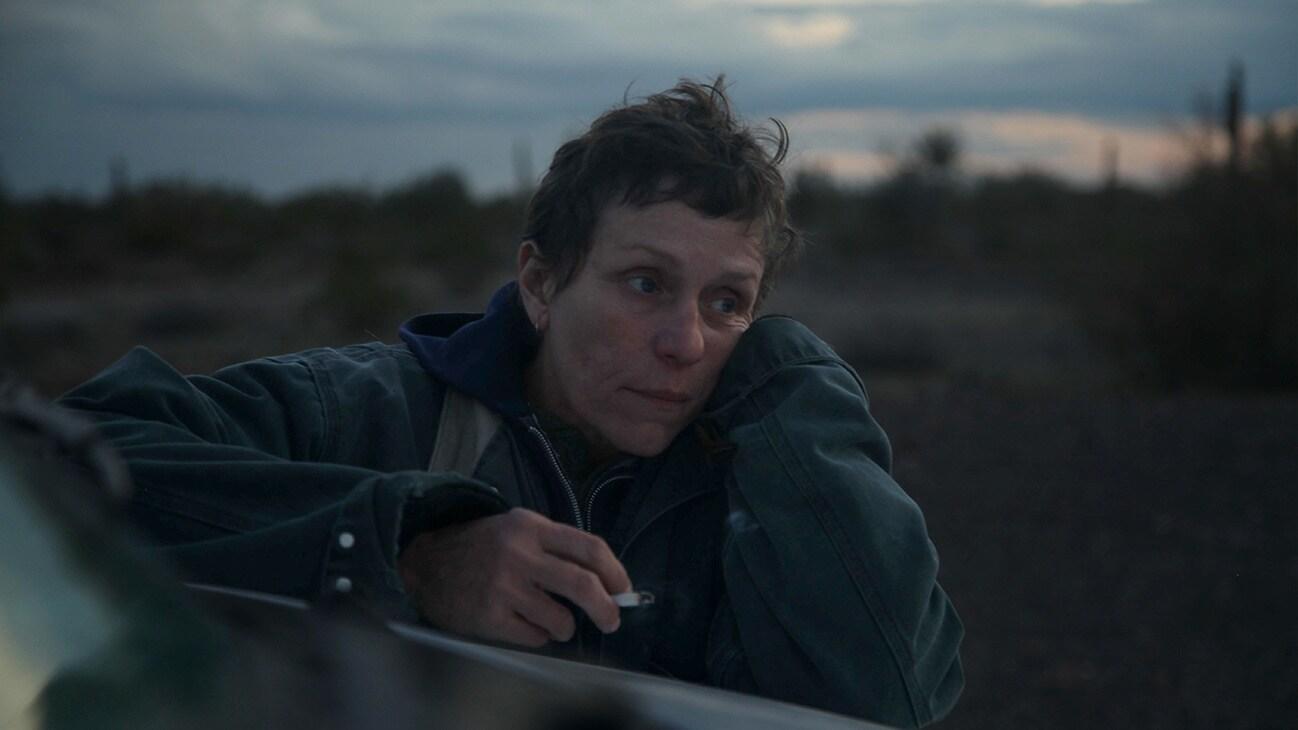 Frances McDormand stars in the movie Nomadland