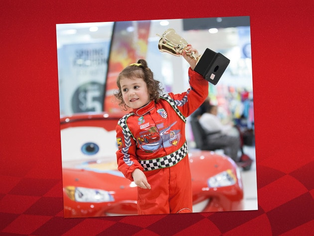 With 142 cars and counting, Scarlett Foundling is Lightning McQueen's #1 Fan!