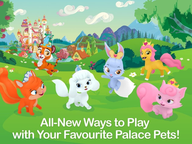 Adventures await with the all new Palace Pets in Whisker Haven app!