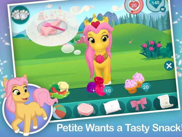 Petite wants a tasty snack