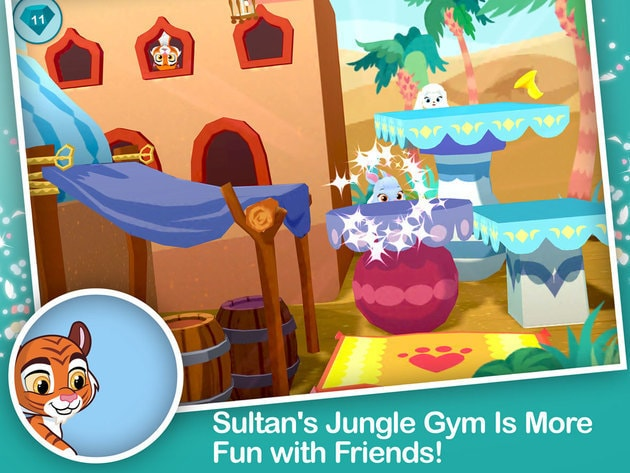 Sultan's jungle gym is more fun with friends