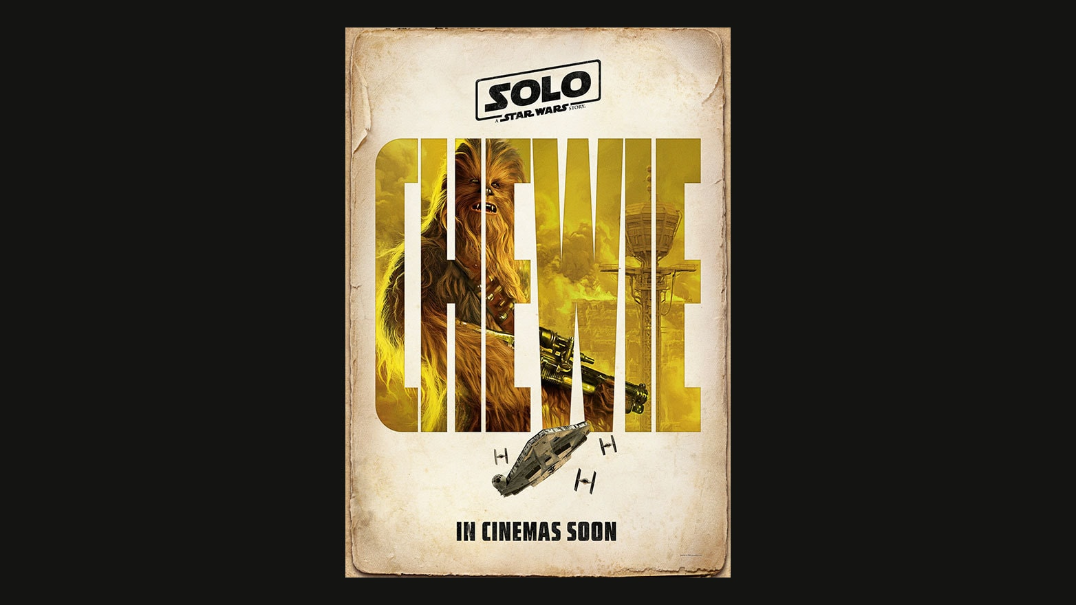 Character Poster - Chewie