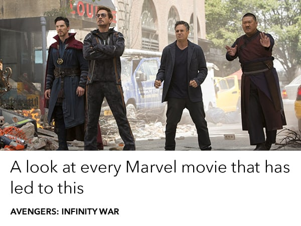 A look at every Marvel film that led to Avengers: Infinity War