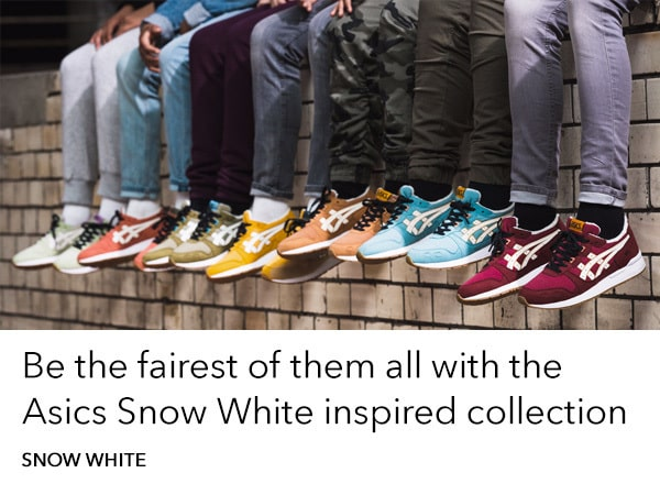 Snow White - Asics collection - Homepage - AU