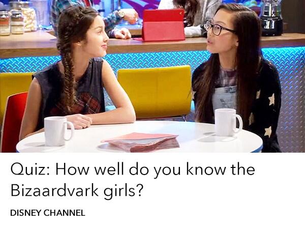 Disney Channel - Bizaardvark Quiz - TV Slider - Homepage AU