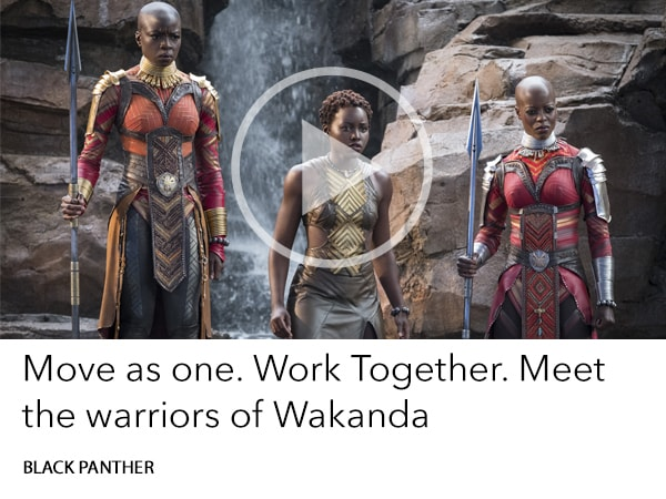 Meet the Warriors of Wakanda
