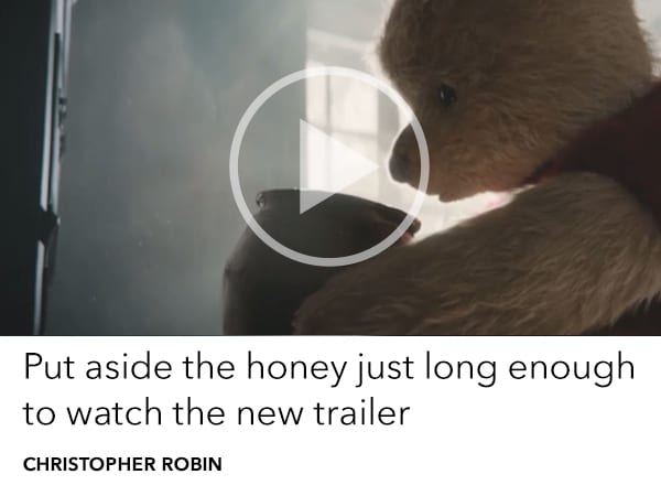 Watch the brand new Christopher Robin trailer