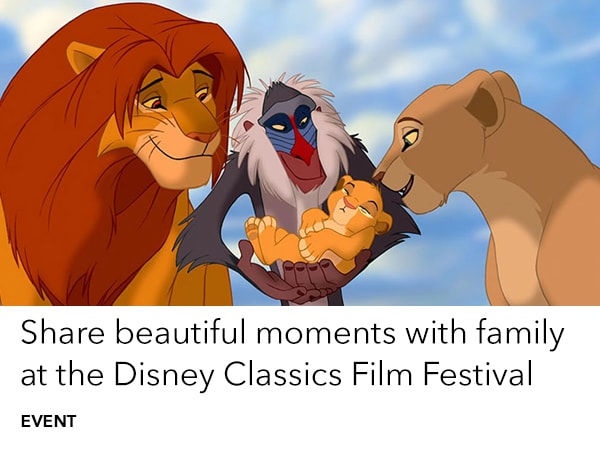 See The Lion King at selected cinemas this weekend