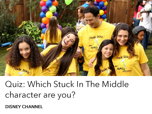 Quiz Which Stuck in the Middle Character Are You?