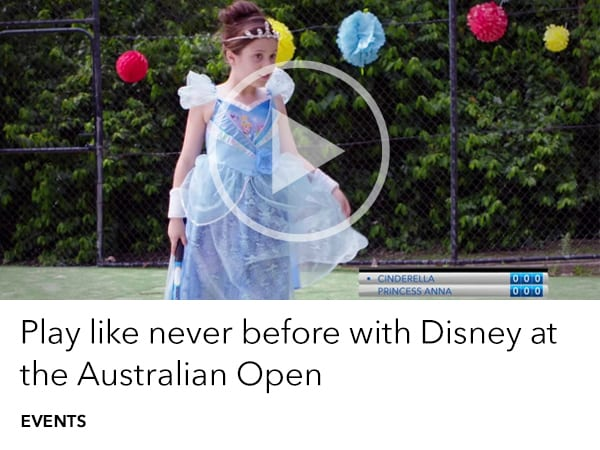 Disney at the Australian Open