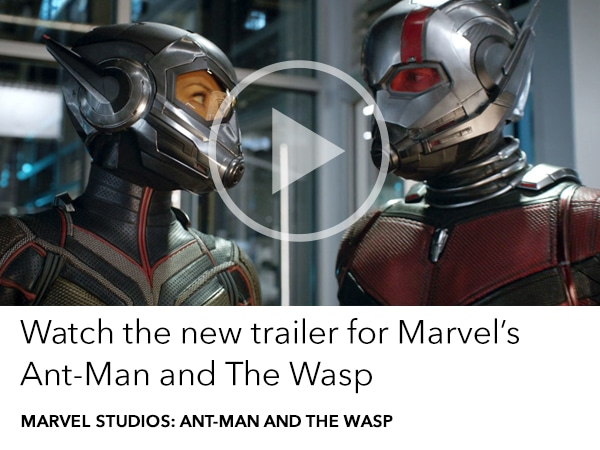 Watch the latest Ant-Man and The Wasp trailer