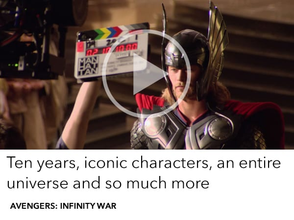 An epic 10 years of the Marvel Cinematic Universe all leads to Avengers: Infinity War