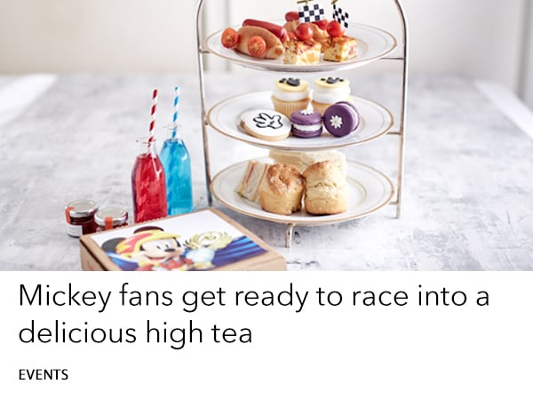 Mickey and the Roadsters High Tea - book now