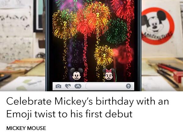 Mickey's Birthday - Steamboat Willie ATBE - Add more Disney slider - AU