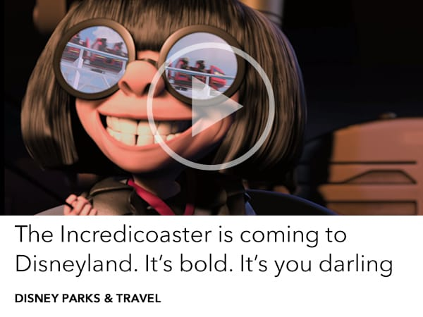Ride the Incredicoaster at Disney's California Adventure Park