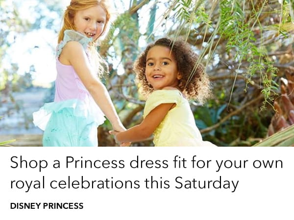 Shop a Princess dress fit for your own royal celebration this Saturday night