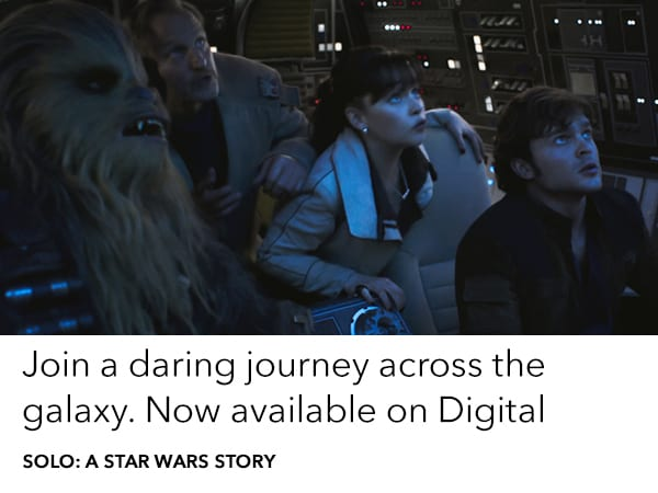 Order your copy of Solo: A Star Wars Story