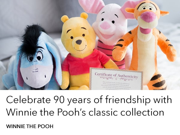 Winnie the Pooh - 90th Classic Collection - Add More Disney Slider - Homepage AU