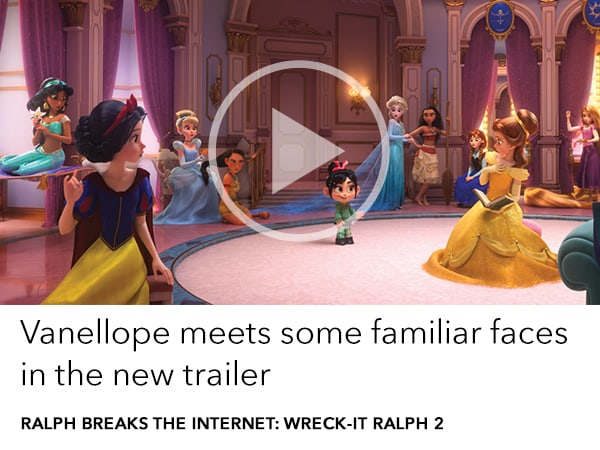 Vanellope meets some familiar faces in the new trailer