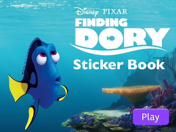 Finding Dory Sticker Book