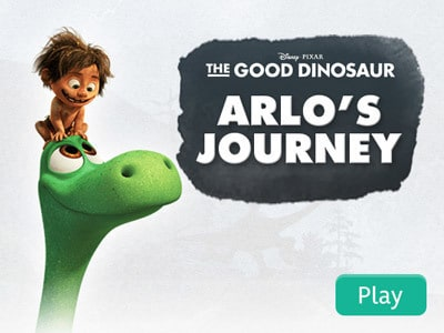 The Good Dinosaur - Arlo's Journey