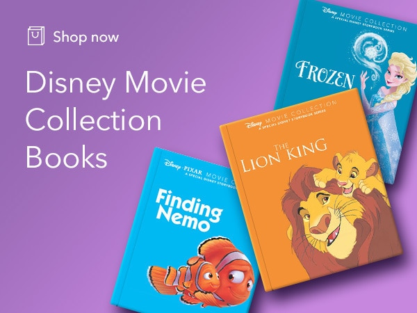 Shop the Disney Movies book collection