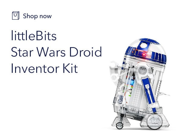 Star Wars - littleBits Droid Inventor Kit - Shop - Game Tile - Link AU
