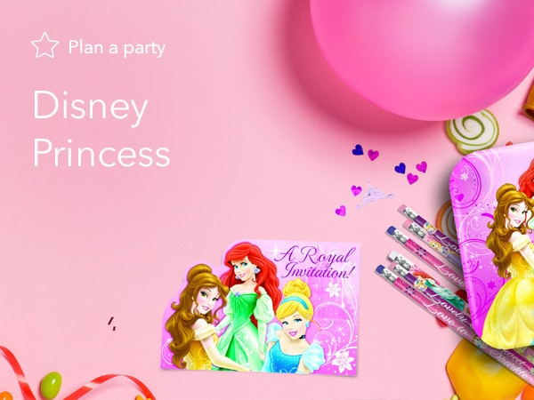 Disney Princess Party Products