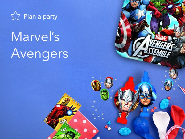 Marvel's Avengers Party Products