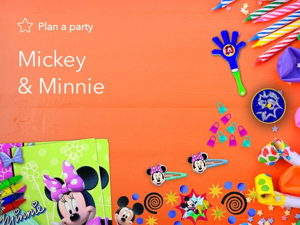Mickey & Minnie Party Products