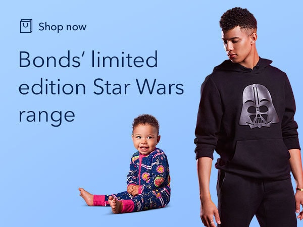 Shop the Star Wars x Bonds collection