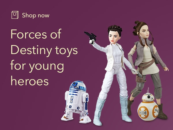 Star Wars - Forces of Destiny - Game Tile - Shop - Franchise Page Link - AU