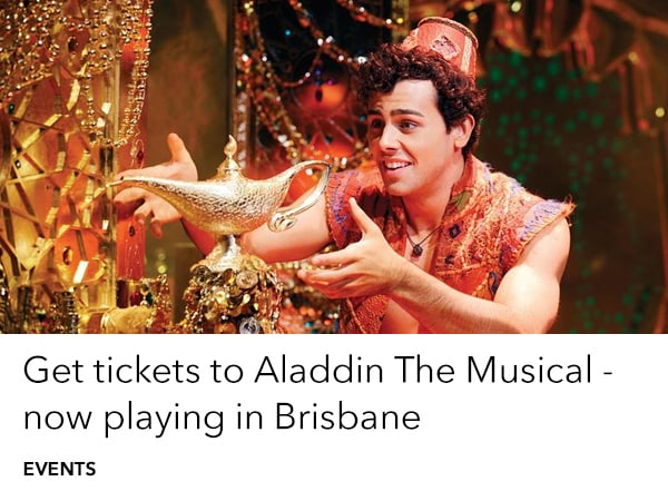 Aladdin The Musical - home slider - Tickets