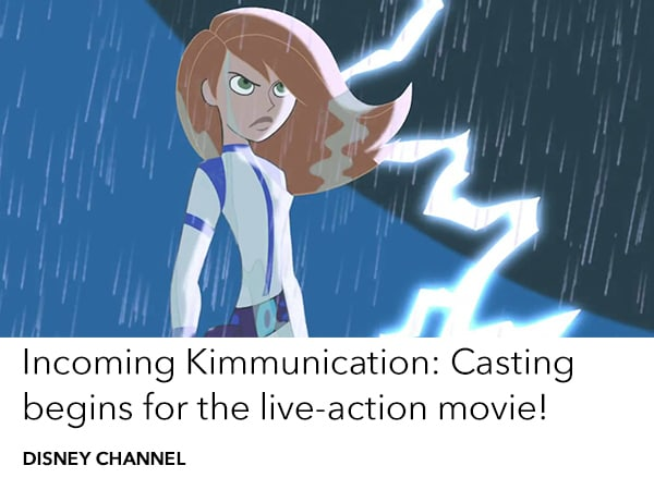Kim Possible live action DCOM is now casting